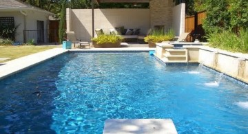 swimming pools for small spaces with jumping board