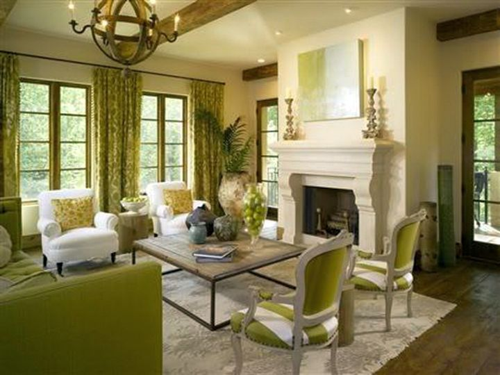 Stunning tuscan living room color ideas for Tuscany living room ideas