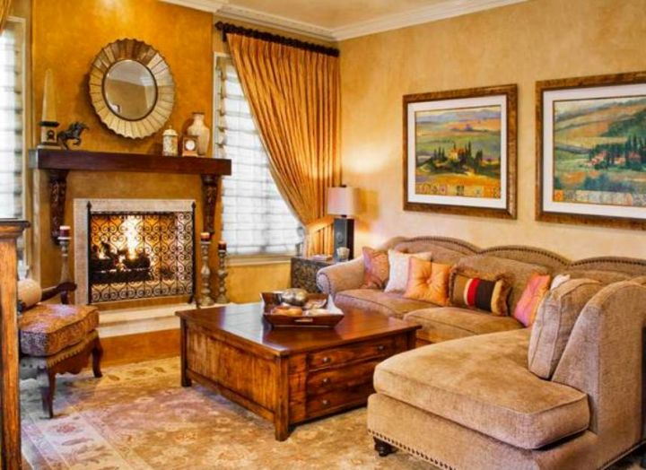 Tuscan Living Room Colors Zion Star