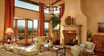 tuscan living room designs 18