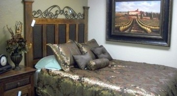 tuscany bedroom furniture in green for small rooms
