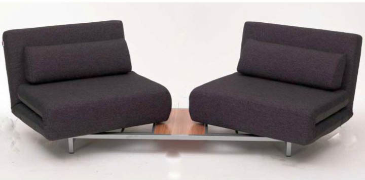 two seats convertible bed designs