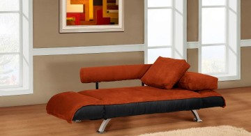 unique divan convertible bed designs in red