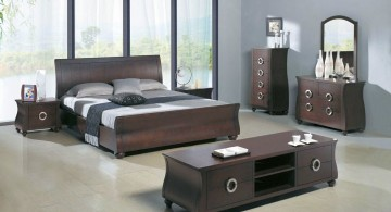 unique furniture set for cool modern bedrooms