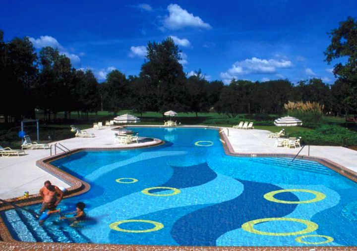 unique mosaic pattern best pool tile