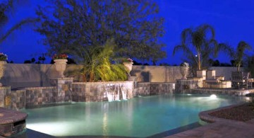 waterfalls for pools inground in lazy l pools