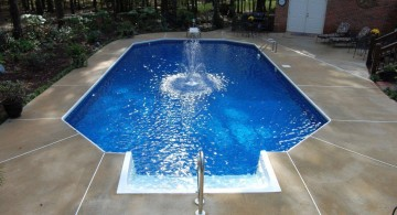Amazing grecian 3-tier floating swimming pool fountain