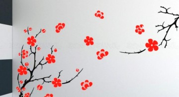 Beautiful Sakura tree DIY Indoor Wall Painter