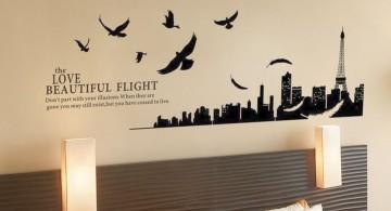 City silhouette DIY Indoor Wall Painter