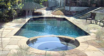 Classic roman gracian pool design