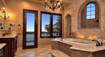 Mediterranean Home Decor for your bathroom