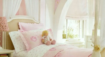 Princess-themed girls bedroom featuring unique canopy bed designs