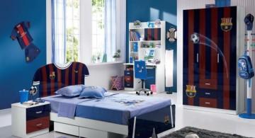 Sleek Barcelona Themed RoomDecorIdeas forTeenage Boys