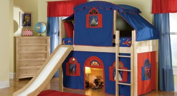 Unique Bunk Beds for Kids Perfect for Castle-Oriented Room Design Ideas