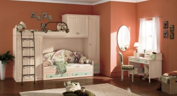 Unique KidsLoftBedsDesign with Classic and Vintage Theme