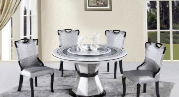 classy yet contemporary dining table chairs designs