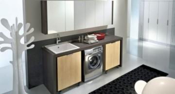 modern artsy laundry room clothes hanger racks designs