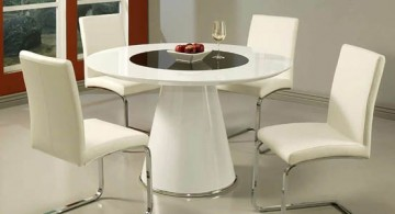 modern dining table chairs designs for round table