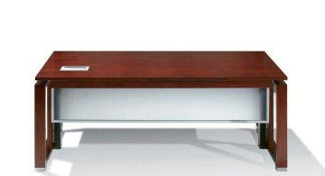 Acrylic Computer Desk with wood
