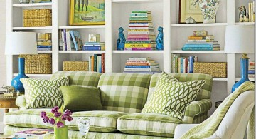 All White Bookshelf Decorating Ideas