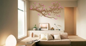 Autumn themed Cool wall painting designs