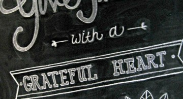 Beautiful spring themed chalkboard writing ideas