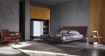 Cool wall painting designs in plain industrial grey
