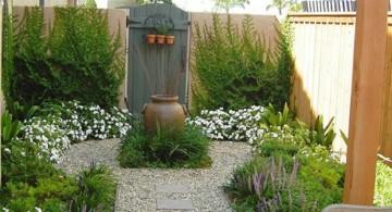 Japanese garden backyard design