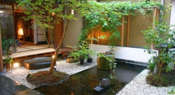 Japanese garden backyard design that also work for indoor garden