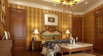 Luxurious Different Ceiling Designs with chandelier