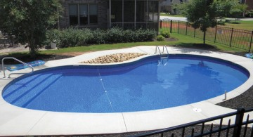 above ground kidney shaped swimming pools