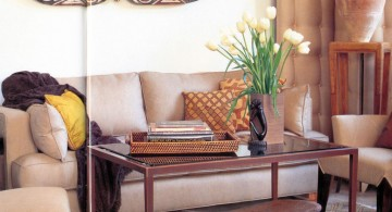 african living room decor for small living room