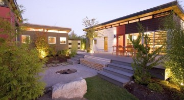 amazing modern homes small cottage with lawn