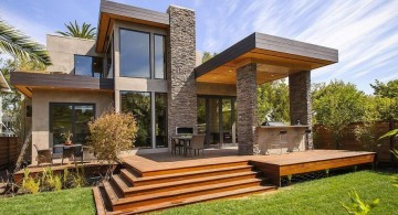 amazing modern homes with stairs and small porch