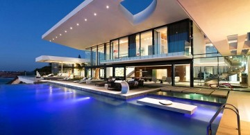 amazing modern homes with unique roof design