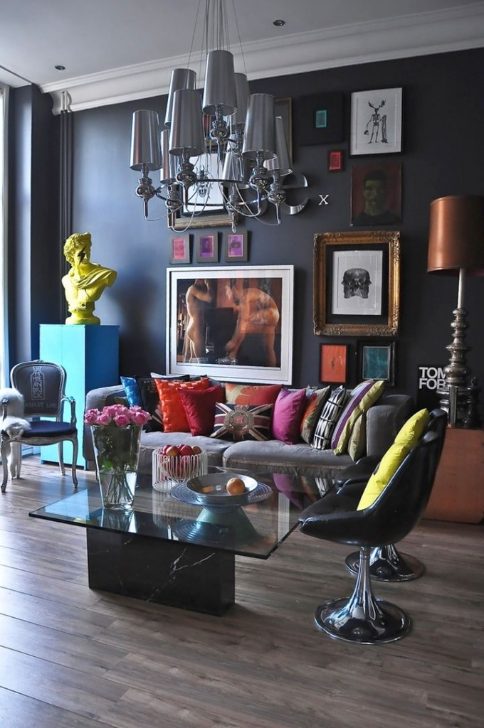 art deco living rooms for small urban apartments
