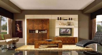art deco living rooms with polished granite tiles