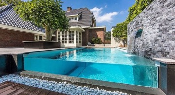 awesome above ground best backyard swimming pool designs