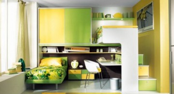 awesome rooms for girls in green