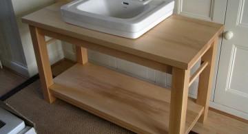 bare stand alone kitchen sink
