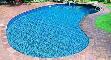 basic kidney shaped swimming pools