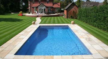 best backyard swimming pool designs for very spacious yard