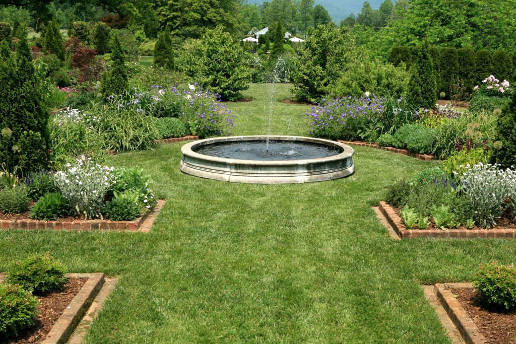 Gallery For Landscape Fountain Design Ideas