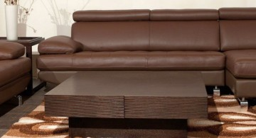 blocked wood coffee table designs