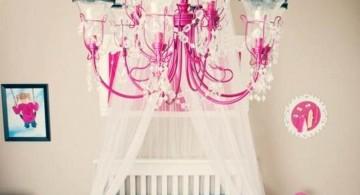 blue paisley pattern cute baby girl bedding ideas