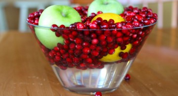 bowl centerpiece ideas using fruits