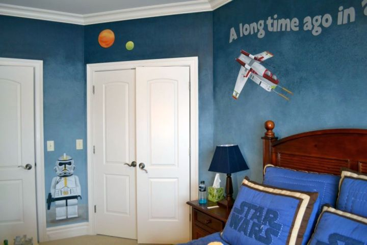 So What Do You Think About Boys Room Paint Ideas In Star Wars Theme Above It S Amazing Right Just Know That Photo Is Only One Of 18 Joyous