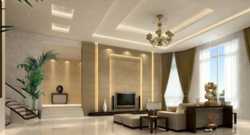 ceiling design ideas for living room
