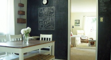 chalkboard writing ideas for dining room