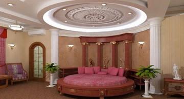 circular tray ceiling bedroom